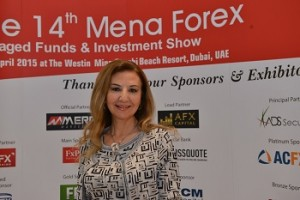 Arabcom Group President Katia Tayar fxlessons